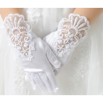 Lace Gloves - Short