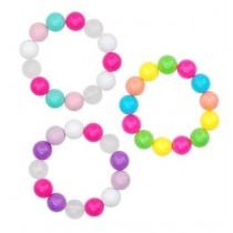 *Pink Poppy Funky Large Bead Bracelet