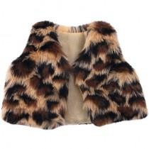 "18"" Doll Vest - Leopard"