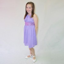 Lucy Dress - Lavender Size 11/12 *FINAL STOCK