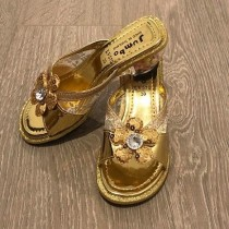 Princess Heels - Gold (Style - LV570)
