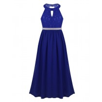 Maddie Dress - Royal Blue