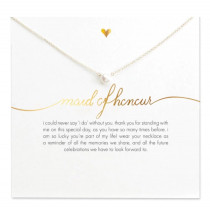 Maid of Honour Necklace - Gold