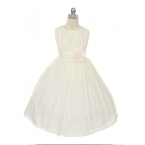 Maria Dress - Offwhite