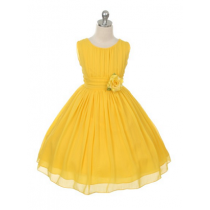 Maria Dress - Yellow