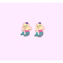 Clip On earrings - Mermaids