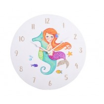 30cm Glitter Mermaid Clock