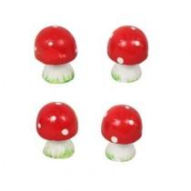 Miniatures 4pc Mushrooms