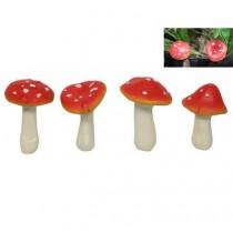 10cm Mushroom Garden Stake