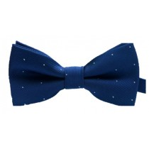 Kids Spotted Bow Tie - Navy *Estimated Arrival 14th Feb*