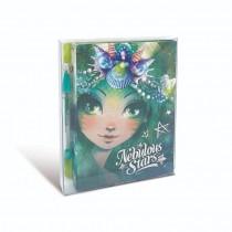 Nebulous Stars - Mini Notebook: Green