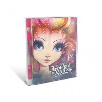 Nebulous Stars - Mini Notebook: Pink