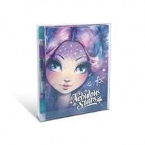 Nebulous Stars - Mini Notebook: Purple