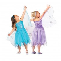 Organza Butterfly Fairy - Blue - Small (2-4)