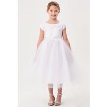 Paisley Dress - White