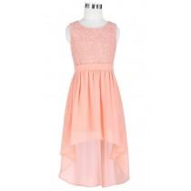 Rita Dress - Peach - Size 9/10
