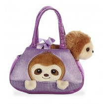 Fancy Pals Peek-a-Boo Sloth Pet Carrier