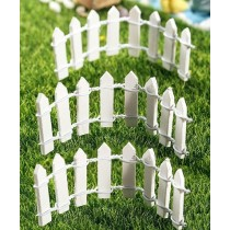 Fairy Garden - Picket Fence (3pc)