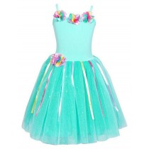 Pink Poppy Rainbow Fairy Dress - Mint - Size 5/6
