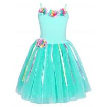 Pink Poppy Rainbow Fairy Dress - Mint - Size 5/6