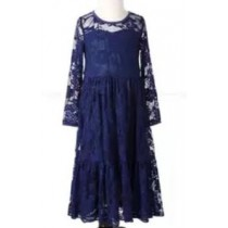 Piper Dress - Navy