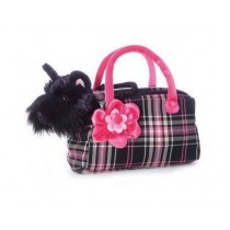 Fancy Pals Plush Scotty Pet Carrier