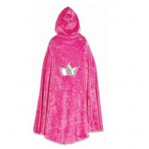 Great Pretenders Princess Cape - Hot Pink