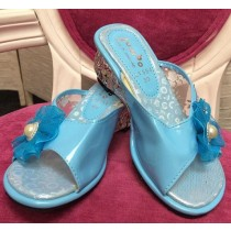 Princess Heels - Blue - Size 26 - (Style LV554)