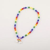 Bright Rainbow Necklace