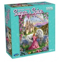 Sugar and Spice - Rainbow Friends 100pc Puzzle