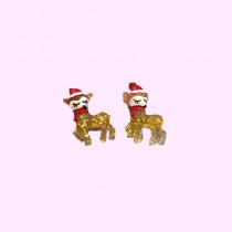 Clip On earrings - Reindeer