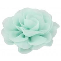 Chiffon Rose - Hair Clips - Mint