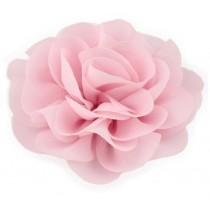 Chiffon Rose - Hair Clips - Light Pink