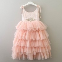 Ruby Dress - Blush