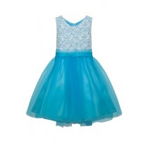 Sasha Dress - Aqua Blue