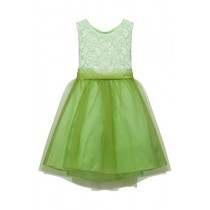 Sasha Dress - Lime Green