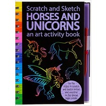 Scratch and Sketch Horses and Unicorns