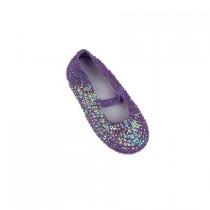 Sequined Shoes - Mauve