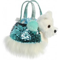 Fancy Pals Shimmers Puppy Pet Carrier