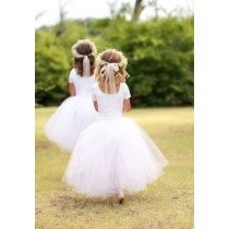 Flower Girl Tutu - White