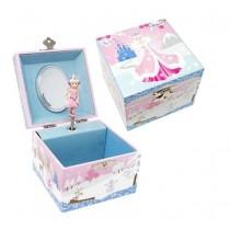Pink Poppy Snow Princess Small Jewellery Box
