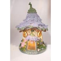 Solar Fairy Flower House - Purple *Arriving early Sept*