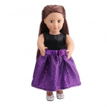 "18"" Sparkle Dress - Purple"