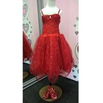 Sparkle Princess - Red - S - (3-4 years)