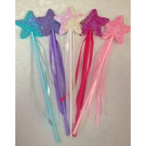 Star Sequinned Wand