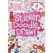 Draw What? Sticker, Doodle, Draw!