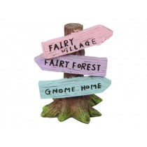 6cm Fairy Tree with Signs