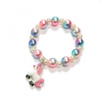 Unicorn Bead Bracelet - Pink