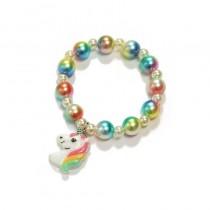 Unicorn Bead Bracelet - Rainbow