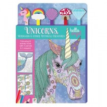 Unicorn Colouring Book & pens